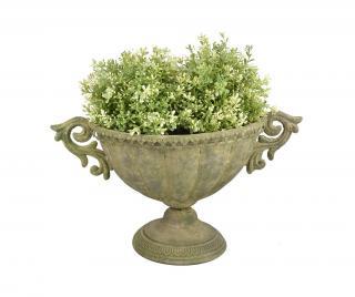 Květináč Esteban Oval Zelená