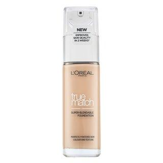 L´Oréal Paris True Match Super-Blendable Foundation - 1N Ivory tekutý make-up pro sjednocení barevného tónu pleti 30 ml