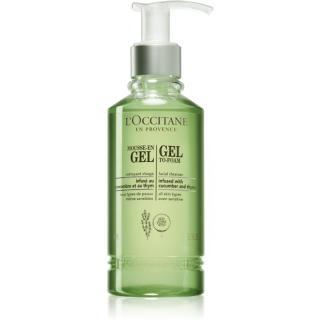 L'Occitane Gel To-Foam čisticí a odličovací gel 200 ml dámské 200 ml