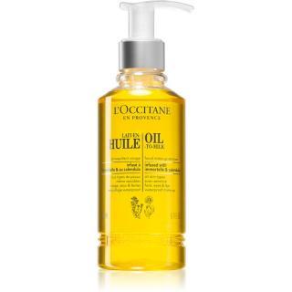L'Occitane Lait-En-Huile odličovací olej pro zářivý vzhled pleti 200 ml dámské 200 ml