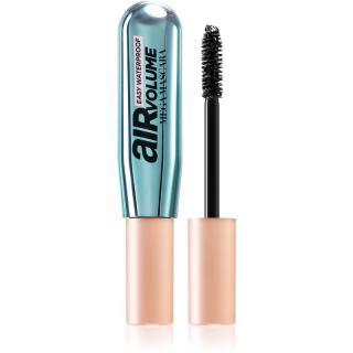 L'Oréal Paris Air Volume Mega Mascara voděodolná řasenka pro prodloužení, natočení a objem odstín Black 9 ml dámské 9 ml