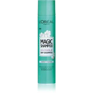 L'Oréal Paris Magic Shampoo Sweet Fusion suchý šampon pro objem vlasů, který nezanechává bílé stopy 200 ml dámské 200 ml