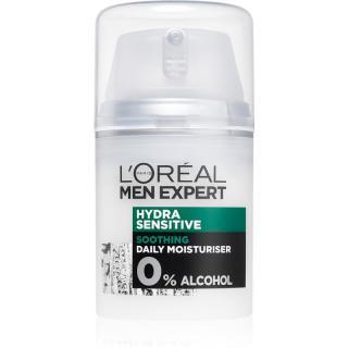 L'Oréal Paris Men Expert Hydra Sensitive zklidňující a hydratační krém pro citlivou pleť 50 ml pánské 50 ml