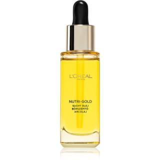 L'Oréal Paris Nutri-Gold vyživující pleťový olej 30 ml dámské 30 ml