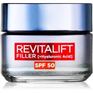 L'Oréal Paris Revitalift Filler denní krém proti stárnutí pleti SPF 50 50 ml dámské 50 ml