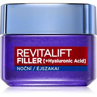 L'Oréal Paris Revitalift Filler vyplňující noční krém proti stárnutí 50 ml dámské 50 ml