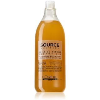 L'Oréal Professionnel Source Essentielle Jasmine Flowers & Sesame Oil vyživující šampon pro suché a zcitlivělé vlasy 1500 ml dámské 1500 ml