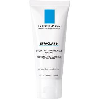 La Roche-Posay Effaclar H zklidňující a hydratační krém pro problematickou pleť, akné H 40 ml dámské 40 ml
