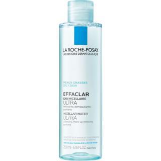 La Roche-Posay Effaclar Ultra čisticí micelární voda pro problematickou pleť, akné 200 ml dámské 200 ml