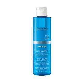 La Roche-Posay Kerium jemný fyziologický gelový šampon pro citlivou pokožku hlavy 200 ml dámské 200 ml