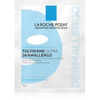 La Roche-Posay Toleriane Ultra Dermallergo plátýnková maska s hydratačním a zklidňujícím účinkem pro citlivou pleť 28 g dámské 28 g