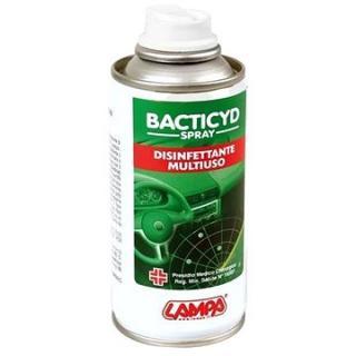 LAMPA Desinfekční sprej pro interiér auta - Bacticyd 150m