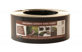Lanit Plast Zahradní obrubník GARDEN EDGE HOBBY 20 m, černý