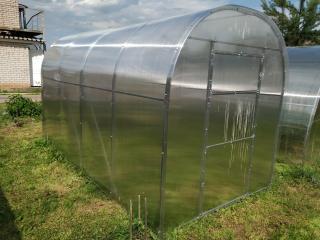 Lanit Plast Zahradní skleník Lanitplast DNĚPR 2,10 x 4 m, 4 mm