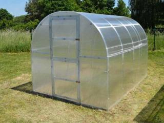 Lanit Plast Zahradní skleník Lanitplast KYKLOP 2 x 3 m, 4 mm