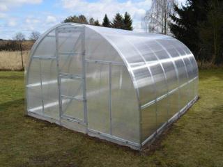 Lanit Plast Zahradní skleník Lanitplast KYKLOP 3 x 8 m, 4 mm