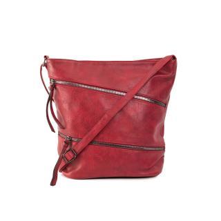 Large dark red women´s bag dámské Neurčeno One size