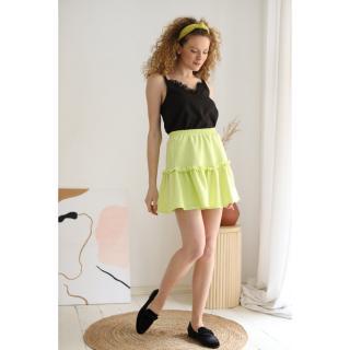 Last Past Now Womans Skirt LP242 dámské Lemon XS