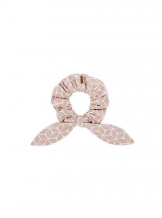 Látková gumička do vlasů Liti Rubber Band dámské růžová
