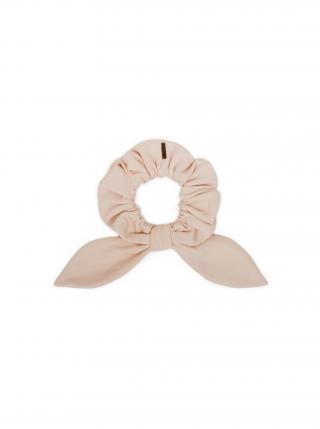 Látková gumička do vlasů Nude Rubber Band dámské růžová