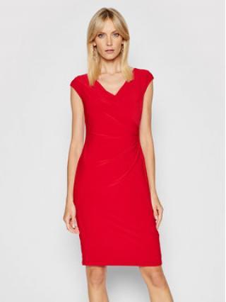 Lauren Ralph Lauren Každodenní šaty 250793037014 Červená Slim Fit dámské 8