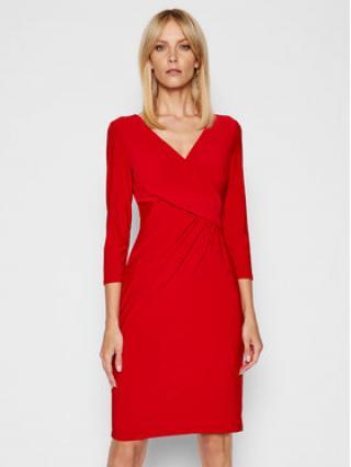 Lauren Ralph Lauren Koktejlové šaty 250768183018 Červená Regular Fit dámské 8