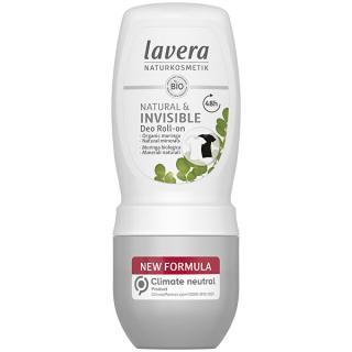 Lavera Kuličkový deodorant Invisible  50 ml dámské