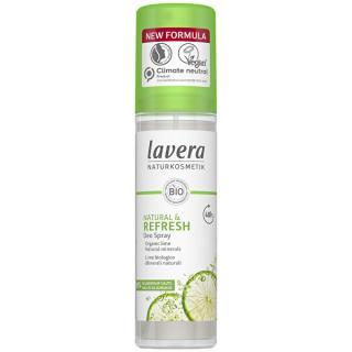 Lavera Osvěžující deodorant ve spreji s vůní limetky Refresh  75 ml dámské