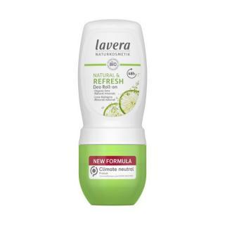 Lavera Osvěžující kuličkový deodorant s vůní limetky Refresh  50 ml dámské