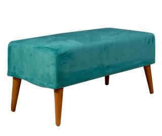 Lavička Libre Turquoise Modrá