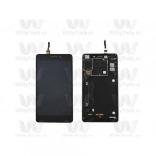 LCD display, dotyková deska a rámeček pro Lenovo K3 Note  Black