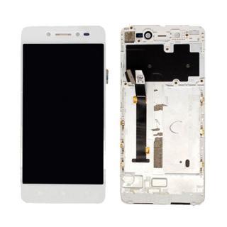 LCD display, dotyková deska a rámeček pro Lenovo S90 White / Pink