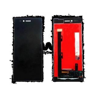 LCD display, dotyková deska a rámeček pro Lenovo Vibe Shot  Black