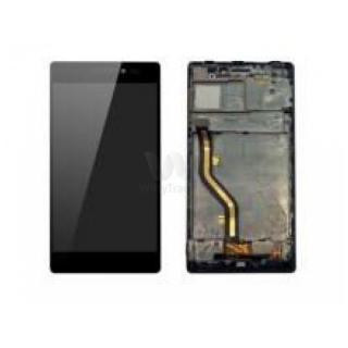 LCD display, dotyková deska a rámeček pro Lenovo Vibe X2 Black