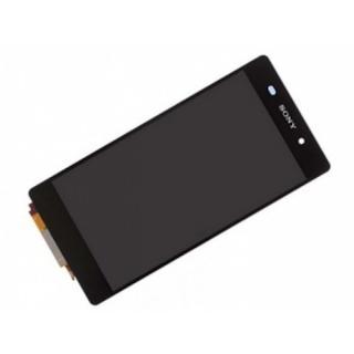 LCD display, dotyková deska a rámeček pro Sony Xperia Z2 Compact Black