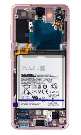 LCD   dotyk   baterie pro Samsung Galaxy S21, phantom pink