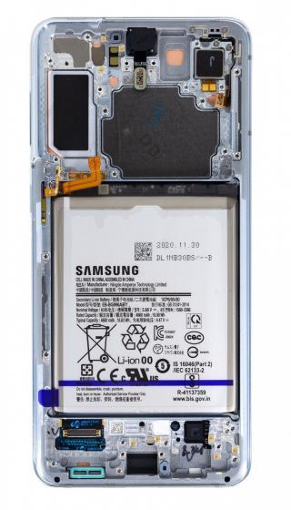 LCD   dotyk   baterie pro Samsung Galaxy S21 , phantom silver
