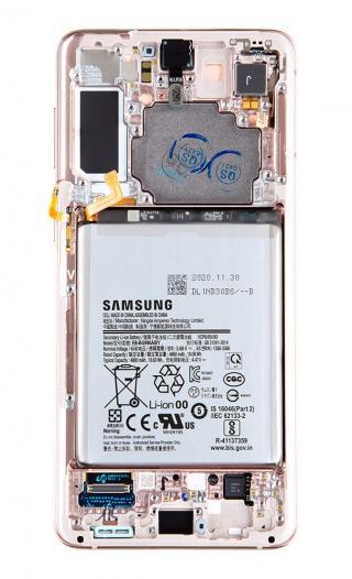 LCD   dotyk   baterie pro Samsung Galaxy S21 , phantom violet