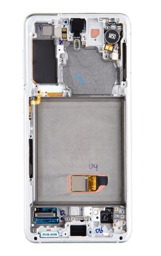 LCD   dotyk   baterie pro Samsung Galaxy S21, phantom white