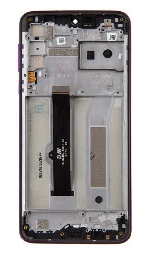 LCD   dotyk   přední kryt pro Motorola One Macro, violet