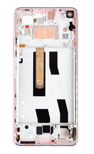 LCD   dotyk   přední kryt pro Xiaomi Mi 11 Lite 4G, pink