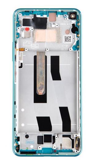 LCD   dotyk   přední kryt pro Xiaomi Mi 11 Lite 5G, green