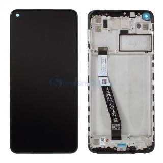 LCD   dotyk   přední kryt pro Xiaomi Redmi Note 9 Pro, black