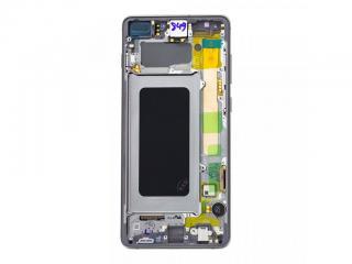 LCD   dotyk pro Samsung Galaxy S10 , white