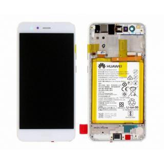 LCD   dotyk   rámeček   baterie pro Huawei P10 Lite, white