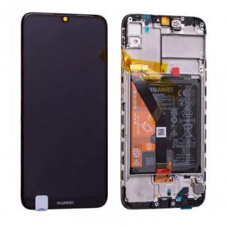 LCD   dotyk   rámeček   baterie pro Huawei Y6 2019, midnight black