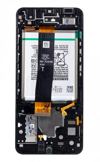 LCD   dotyk   rámeček   baterie pro Samsung Galaxy A32 5G, black