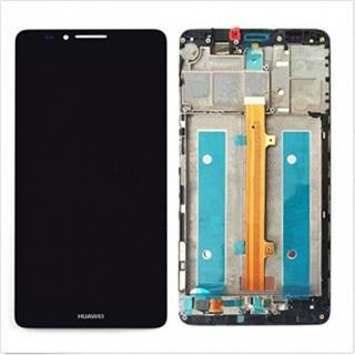 LCD   dotyk   rámeček pro Huawei Mate 7 OEM, black
