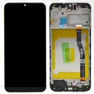 LCD   dotyk   rámeček pro Samsung Galaxy M21, black