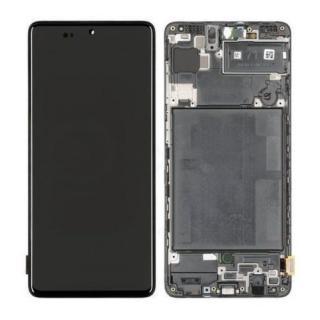LCD   dotyková deska pro Samsung Galaxy A72, blue